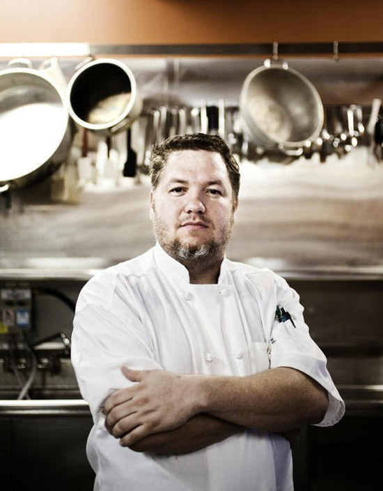 Salt owner and chef Wes Johnson - JENNIFER SILVERBERG