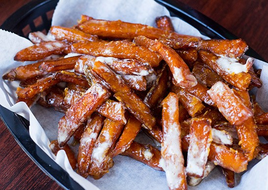 The Kitchen Sink's sweet potato fries. | Photos by Mabel Suen