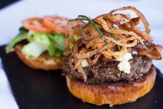 Jax Burger.   Photos by Mabel Suen