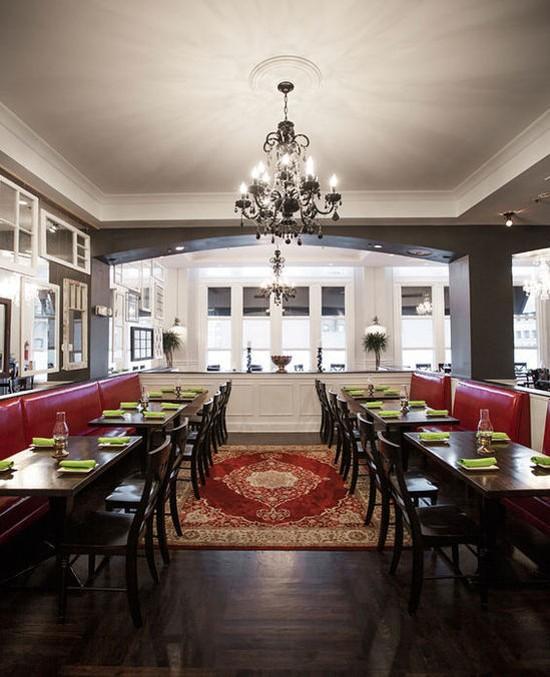 The dining room of Blood & Sand - JENNIFER SILVERBERG