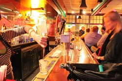 Inside the Delmar Restaurant & Lounge