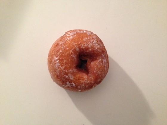 O'Fashion Donuts' buttermilk-cake doughnut. | Cheryl Baehr