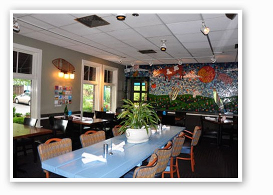 Inside Big Sky Cafe | Tara Mahadevan