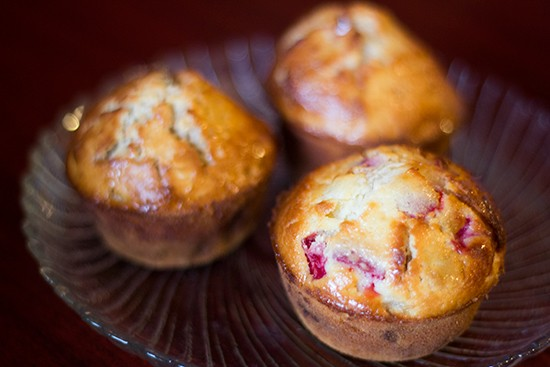 Banana-split muffins at Annie Moons. | Mabel Suen