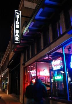 The Side Bar. - CAILLIN MURRAY