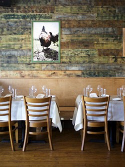 The intimate quarters at Home Wine Kitchen help contribute to the overall effect of an outstanding, but not pretentious, dining experience. - JENNIFER SILVERBERG