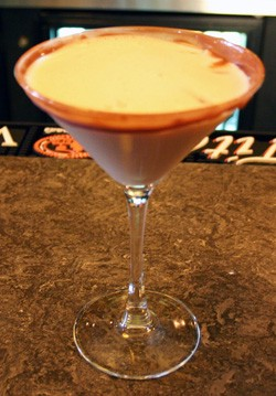 Love Potion #9, aka the Chocolate Martini at Frank Papa's. - KATIE MOULTON