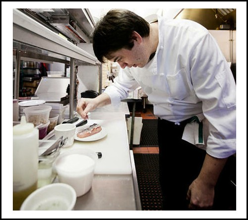 Market Grill chef Jonathan Olson. - JENNIFER SILVERBERG