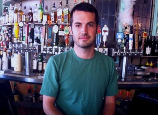 Plush bartender Lucas Prize. - HOLLY FANN