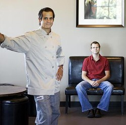 Brothers Jason (left) and Adam Tilford of Milagro Modern Mexican - JENNIFER SILVERBERG