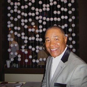 Cardinals legend Ozzie Smith at his namesake restaurant - APRIL SEAGER
