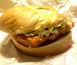 Wendy's Premium Cod Fillet Sandwich. - EVAN C. JONES