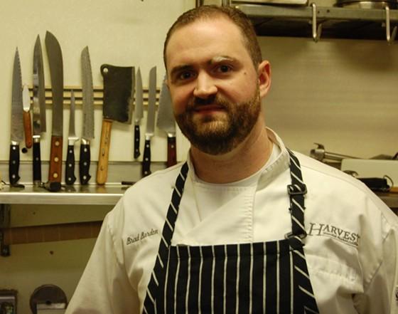Harvest chef de cuisine Brad Bardon.   Cheryl Baehr