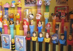 Own a piece of Blueberry Hill history -- like Pez dispensers. - IMAGE VIA