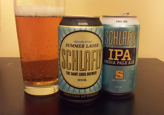 Schlafly Summer Lager & Session IPA - RICHARD HAEGELE