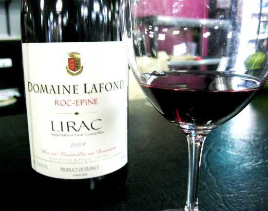 The Domaine Lafond Lirac Rouge is a blend of grenache and syrah from France's Rhone Valley. - ERIKA MILLER