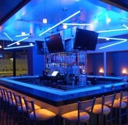 The bar at Ice Kitchen