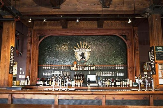 The bar at Schlafly Tap Room. | Laura Miller
