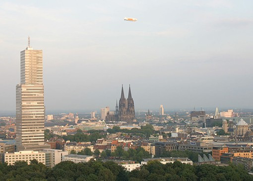 """Köln, including the famous cathedral - USER """"MUTANTE,"""" WIKIMEDIA COMMONS"""