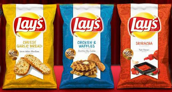 One of these new potato chip flavors will become a Lay's regular. - IMAGE VIA