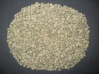 Green (unroasted) coffee beans - FERNANDO REBELO, WIKIMEDIA COMMONS