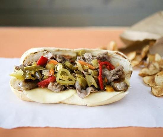 """The """"Big Bend Mafia"""" sandwich at Fozzie's - JENNIFER SILVERBERG"""