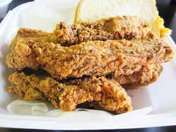 The fried ribs of Bigg Daddy's Fried Ribs - IAN FROEB