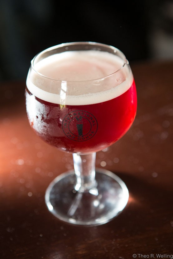 Belgian Street Water from Charleville Brewing Company in Ste. Genevieve. - ALL PHOTOS BY THEO WELLING