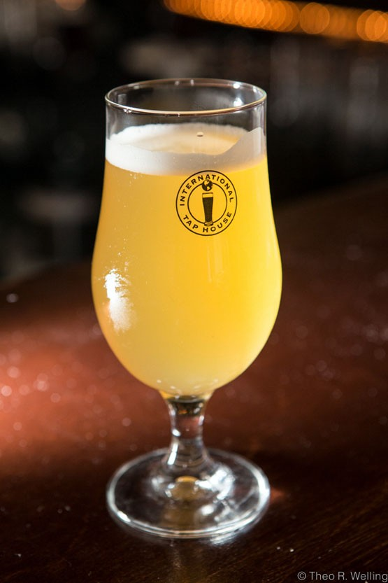Prussia Berliner Style Weiss from 4 Hands Brewing Co. in St. Louis. - THEO WELLING