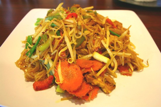 Bangkok Noodles from Pearl Cafe - CHRISSY WILMES