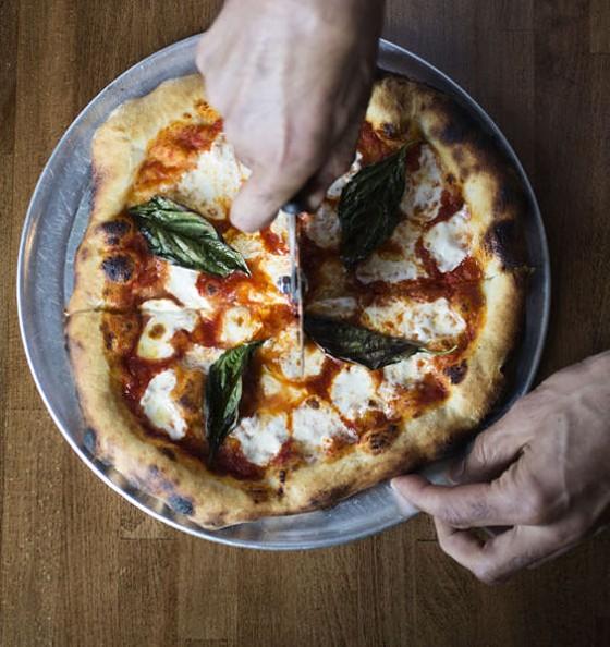 A Pizza Story's version of the Margherita pizza. | Jennifer Silverberg