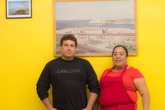 Owner Daime Gomez and chef Lorena Munoz.