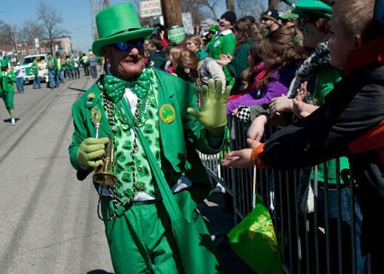 St. Patrick's Day 2014 in Dogtown. | Jon Gitchoff