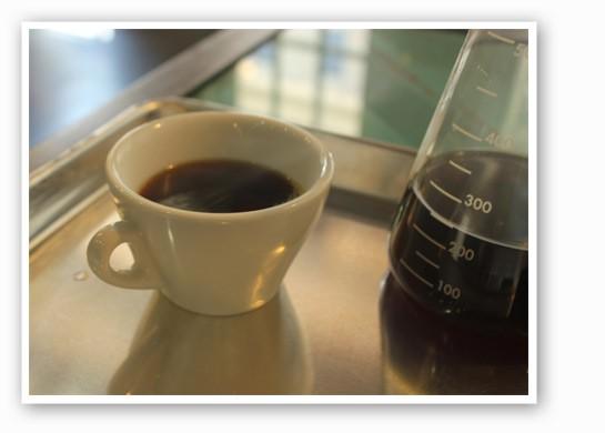 Caffeine addiction is not a joke, son.   Nancy Stiles