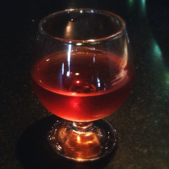 "An aged ""Martinez"" at Sanctuaria. 