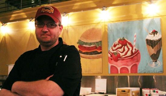 Head chef Mike Warhover of Baileys' Range. - MABEL SUEN