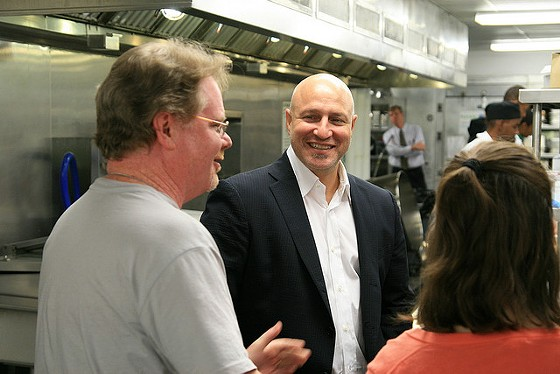 Celebrity chef and restaurateur Tom Colicchio at a charity event. | DC Central Kitchen