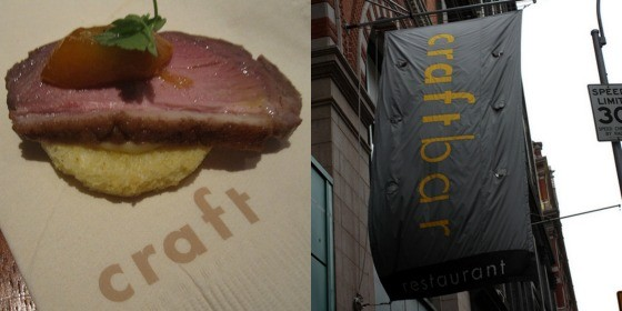 Some of the signage and branding from Colicchio's restaurants.   The Delicious Life and Kevin Gong