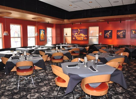 Inside Eclipse Restaurant | Tara Mahadevan