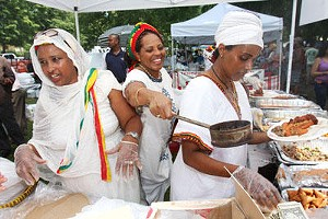 A scene from the International Institute's Festival of Nations in Tower Grove circa 2008 - LYLE WHITWORTH