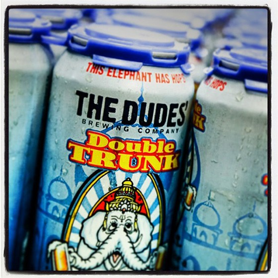The Double Trunk double IPA from the Dudes' Brewing Company. | Courtesy the Dudes Brewing Company