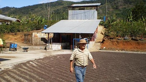 Owner Hector Bonilla at Micro-Mill Don Mayo, Costa Rica - PHOTO COURTESY TYLER ZIMMER