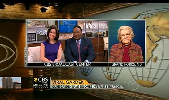 Marilyn Hagerty on CBS This Morning