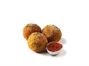 Arancini - rice balls, stuffed with meat, fried. - MANGIA MOBILE