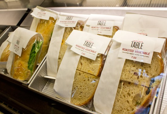 Don't have enough time to dine in? Grab and go from a selection of premade sandwiches. - MABEL SUEN