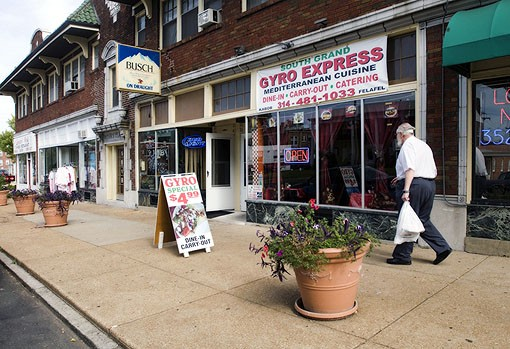 South Grand Gyro Express is located at 5622 South Grand Boulevard near Carondelet Park. See slide show here. - PHOTO: JENNIFER SILVERBERG