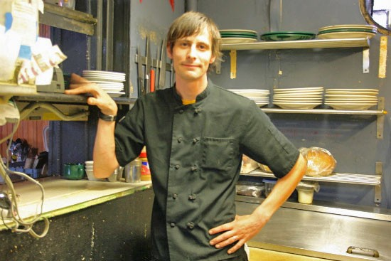 Jeff Robtoy, executive chef at the Bleeding Deacon Public House. - CHRISSY WILMES