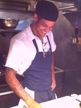 Matthew Daughaday, chef de cuisine of Taste. - HOLLY FANN