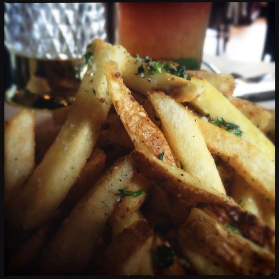 Hand-cut fries.   Patrick J. Hurley