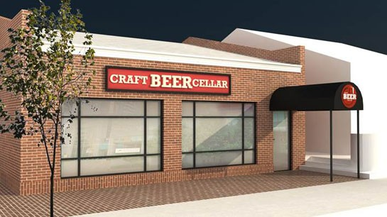 A rendering of the future Craft Beer Cellar. | Craft Beer Cellar